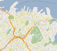 Carte auckland