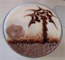 La plage des Tropiques en café