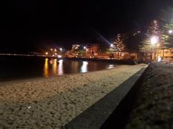 La baie de Wellington la nuit