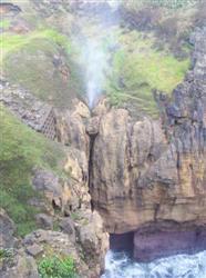 Le Blowhole de Nouvelle-Zélande