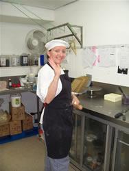 Caroline, la chef chocolatière