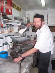 Christophe, le chef pâtissier de Dorothy