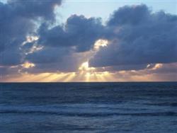 Coucher de soleil à New Plymouth