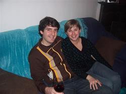 Dan et Vanessa, mes colocataires
