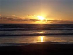 Coucher du soleil à Foxton