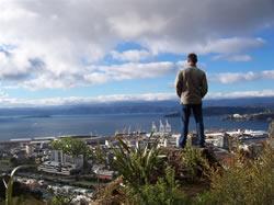 Francois dans les collines de Wellington