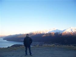 Lac wakatipu au matin