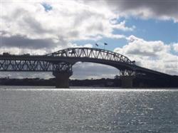 Le Harbour Bridge d'Auckland