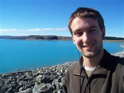 Le lac bleu turquoise Pukaki