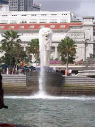 Le lion de Singapour