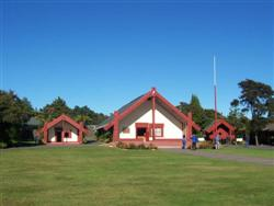 Les Maisons Maoris à Te Puia à Rotorua