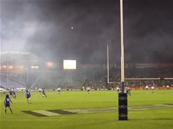 Un match de Rugby à Eden Park Auckland