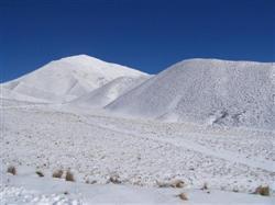Les montagnes enneigés de la Nouvelle-Zélande