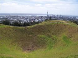 Le Mt Eden à Auckland en Nouvelle-Zélande