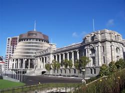 Le parlement de la Nouvelle-Zélande