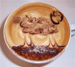 Le mouton en café