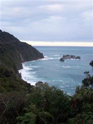La côte Ouest de la Nouvelle-Zélande