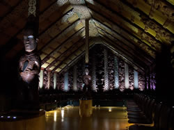 Une maison traditionnelle Maori