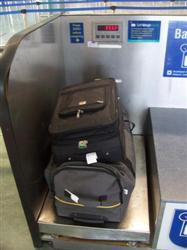 Le poids des baguage à l'aéroport