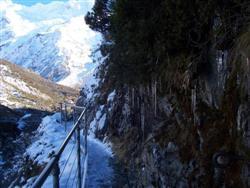Le passage vers le Mont Cook