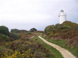 Le phare de Westport en Nouvelle-Zélande