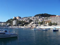 L'Oriental Bay de Wellington avec le monastère St Gerald