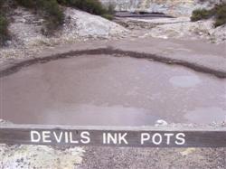 Devils ink pots Rotorua