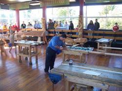 Scuplture Maori en Nouvelle-Zélande