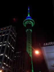 La skytower en verte
