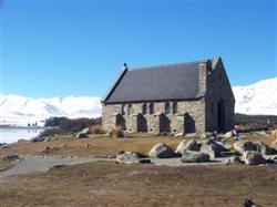 L'église du bon berger à Tekapo