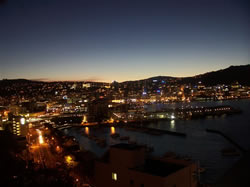 Wellington de nuit